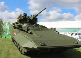 Боевая машина пехоты Т-15 © RT / Заквасин Алексей
