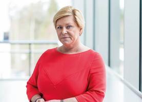 Сив Йенсен, лидер норвежской Партии прогресса (фото с сайта партии)