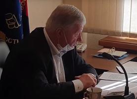 Михаил Шмаков. Кадр из видео