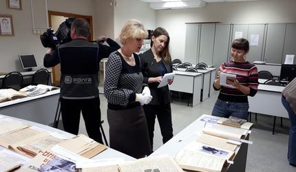Нижегородские архивисты собрали документы к 115-летию Валерия Чкалова