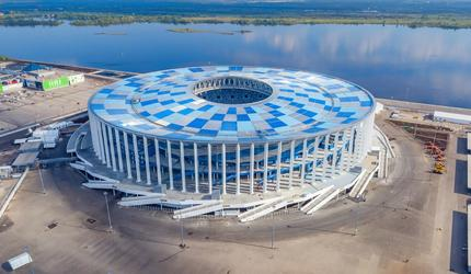 Стадион «Нижний Новгород» участвует во всемирном конкурсе «Стадион года-2018»