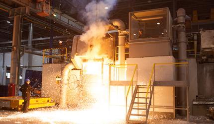 Литейное производство на заводе ГУСАР