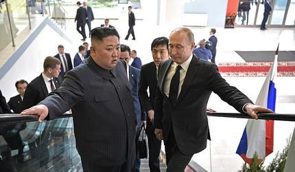 Владимир Путин остался доволен итогами переговоров с Ким Чен Ыном