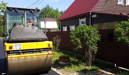 На дорогах городского округа Шатура полным ходом идут ремонтные работы