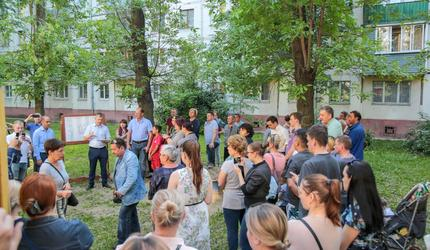 Новая детская площадка появится в Люберцах
