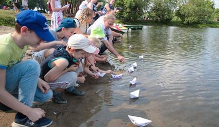 Благотворительный фестиваль «Паруса надежды» прошел в Люберцах