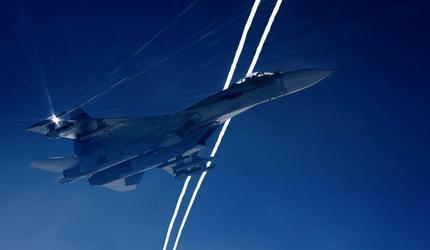 Российский истребитель поднимался на перехват авиаразведчиков