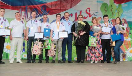 В Люберцах проходят торжества, посвященные Дню России