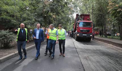 В Люберцах продолжается ремонт дорог