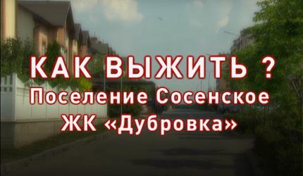 """Как выжить? Поселение Сосенское, ЖК """"Дубровка"""""""