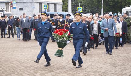 В Уфе отметили День ветеранов боевых действий