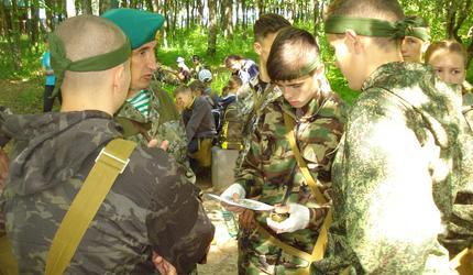 Финальный этап областной военно-спортивной игры «Орлёнок»