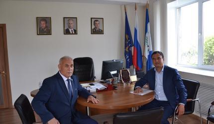 Депутат Госдумы побывал в Иркутском ДОСААФ