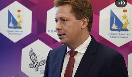 Владимир Путин уволил губернатора Севастополя