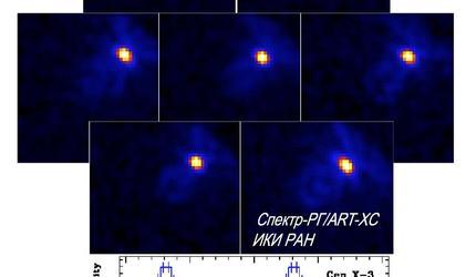 """Обсерватория """"Спектр-РГ"""" прислала первое фото из космоса"""