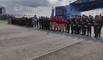 Юнармейская эстафета военно-патриотических клубов прошла под Псковом
