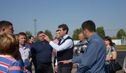 Глава округа провел традиционный объезд по городу «Чистый четверг»