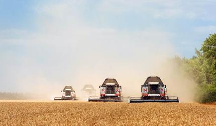 Линейка зерноуборочных комбайнов Ростсельмаш