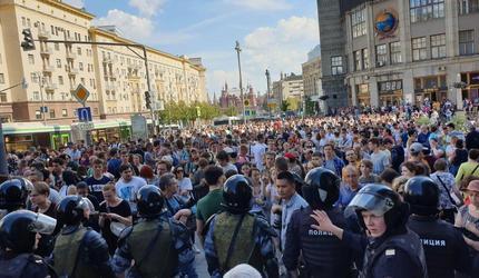 «Мэрия боится»: власти Москвы отклонили все заявки на акции протеста