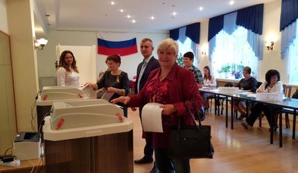 Сегодня на выборах Москва впервые голосовала электронно