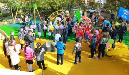 Новые детские площадки открылись сегодня в городском округе Люберцы