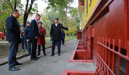 В подмосковных Люберцах проверили качество капремонта жилого дома