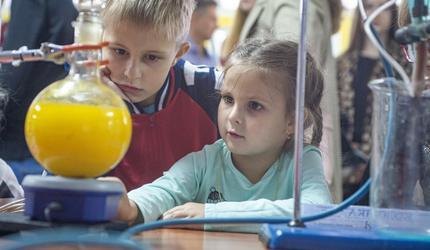 ЮЗГУ показал будущим первокурсникам чудеса науки