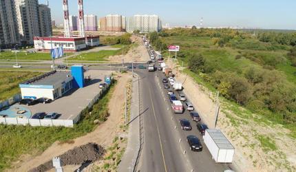 В конце года в Люберцах будет завершена реконструкция Зенинского шоссе