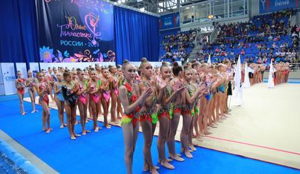 Люберцы принимают Всероссийские соревнования по художественной гимнастике