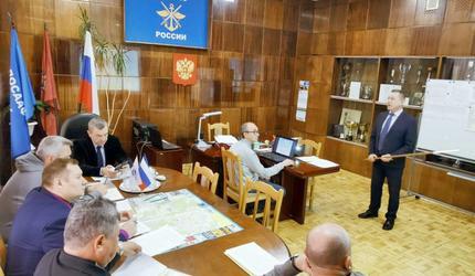 Александр Колмаков посетил Центральный автомотоклуб