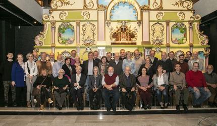 Визит делегации Общества самоиграющих музыкальных инструментов в музей Собрание