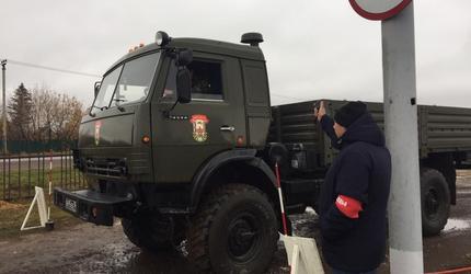 В Татарстане прошел республиканский конкурс «Лучший военный водитель-2019»