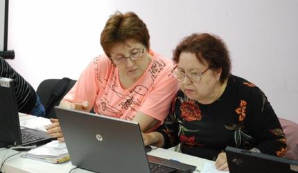 30 пожилых жителей подмосковных Люберец трудоустроились после переобучения