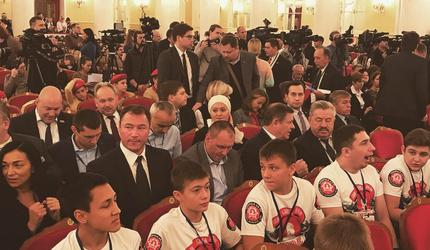 Николай Стаськов принял участие в общероссийском молодежном форуме «Будущее»