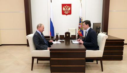 Путин предупредил об увеличении числа школьников