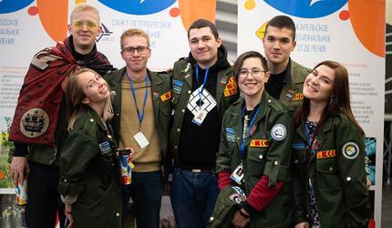 Политех – лучший штаб студенческих отрядов Северо-Запада