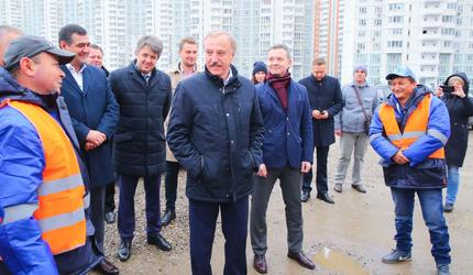 Глава подмосковных Люберец проверил готовность к зиме УК «ПИК-Комфорт»