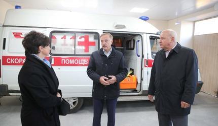 Подстанция скорой помощи в поселке Октябрьский начала работу