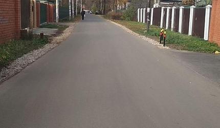 Свыше 35 тысяч кв. метров дорог отремонтировали в п. Малаховка в 2019 году