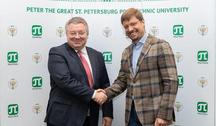 Замминистра науки и высшего образования Алексей Медведев посетил СПбПУ