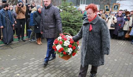 В Люберцах почтили память жертв политических репрессий