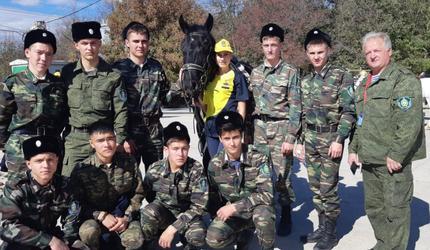 Зауральские кадеты привезли «бронзу» военно-спортивной игры «Казачий сполох»