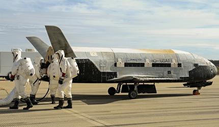 Американский аппарат Х-37В  - угрожающая космическая загадка
