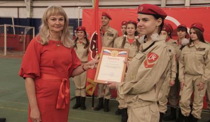 Более 200 юных тамбовчан дали клятву юнармейца