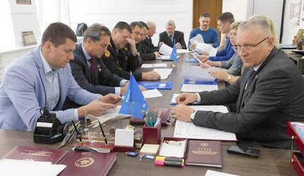Заседание наблюдательного совета регионального отделения ДОСААФ Янтарного края