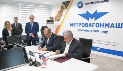 Метровагонмаш построит для бакинского метро 12 поездов