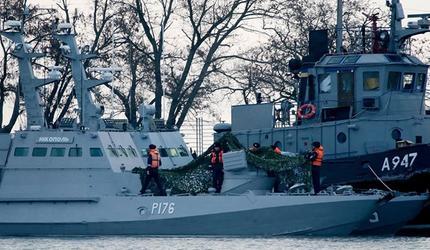 С вернувшихся на Украину кораблей «украли паруса и сняли весла» шутят в соцсетях