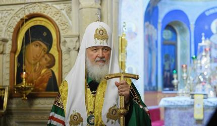"Патриарху Кириллу исполнилось 73 года. Путин: ""Спасибо за служение"""