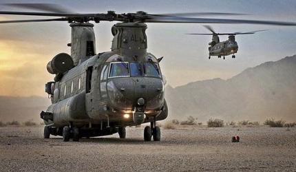 Американский  вертолет потерпел крушение в Афганистане