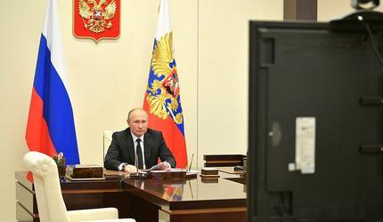 Путин принял участие во Всероссийском открытом уроке